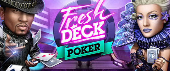 Fresh Deck Poker - Choose your look with this amazing 3D Poker Experience on Facebook.